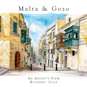 Malta & Gozo, An Artists View by Richard Cole
