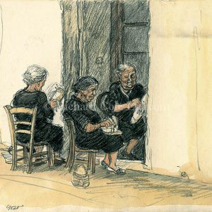 The Lace Makers, Gozo.