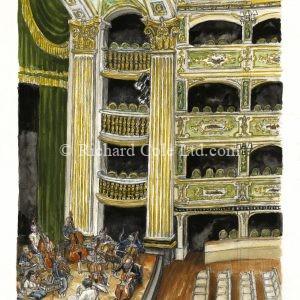 The Rehearsal, Manoel Theatre, Valletta, Malta.