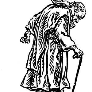 Elderly Carthusian Monk
