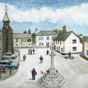 Hartland Square, North Devon.