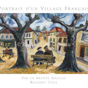 Portrait d'un Village Français par un Artiste Anglais.  (French Edition)