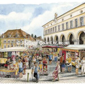Thursday Market, La Tour-du-Pin.