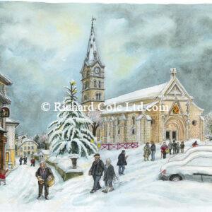 Le Sapin de Noël, St-Geoire-en-Valdaine.