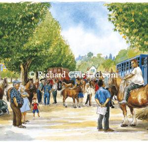 Le Concours de Juments et Pouliches, Pont-de-Beauvoisin.