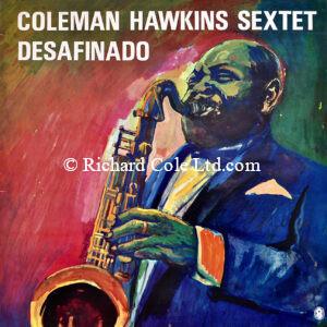 Coleman Hawkins, Desafinado. World Record Club, Vinyl Sleeve.