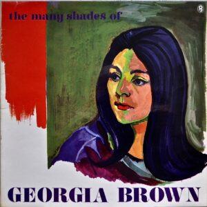 The Many Shades of Georgia Brown. World Record Club Vinyl Sleeve.