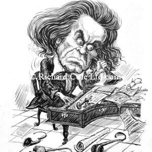 Beethoven, Original Cartoon.