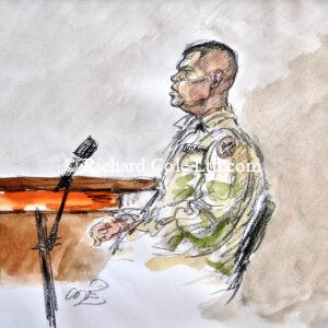 Sivits, Abu Ghraib Courts Martial of American Soldiers. Baghdad, Iraq. 2004. CBS News.